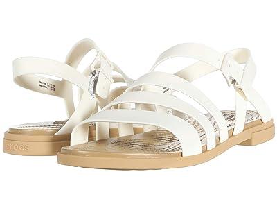 Crocs Tulum Sandal (Oyster/Tan) Women
