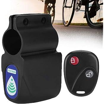 Alarma de ciclismo con control remoto inalámbrico, cerradura ...