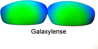 Galaxylense Men's Replacement Lenses For Oakley Whisker Green Polarized S