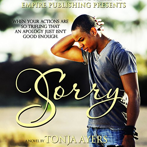 Sorry audiobook cover art