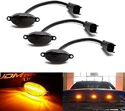 3* For Ford SVT Raptor Style LED Amber Grille Lighting Kit Universal SUV Truck