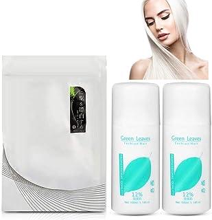 comprar comparacion Set de decoloración del cabello, polvo decolorante para el cabello + 2 piezas de leche Dioxygen Sin estimulación, sin lesi...