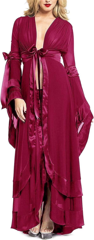 Tianzhihe Sexy Robe Long Boudoir Lingerie Chiffon Beach Swimsuit Dress Bridal Bathgown Wedding Scarf Sleepwear