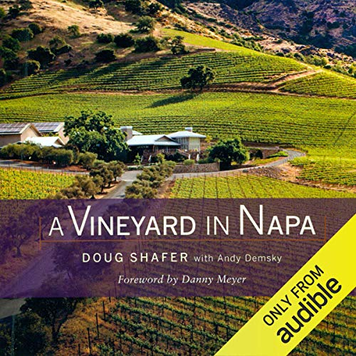 A Vineyard in Napa audiobook cover art