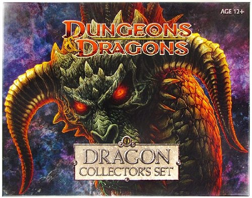 Dungeons & Dragons Miniatures Limited Edition Dragon Collectors Set 5 Figures