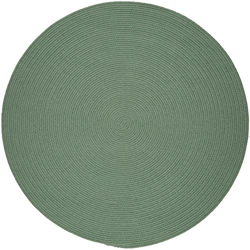 Super Area Rugs Maui Braided Rug Indoor Outdoor Rug Washable Reversible Green Patio Porch...