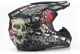 Qianliuk Road Motorrad Helm Adult Motocross Helm ATV Bike Downhill Racing Helm Kreuz Helm