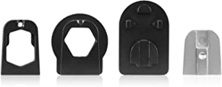 AUTO-VOX X1PRO/T2/T1400 Rear View Mirror Bracket Adapters -4 types of Adapters for Volkswagen Audi Dodge Ford Honda Jeep and more vehicles