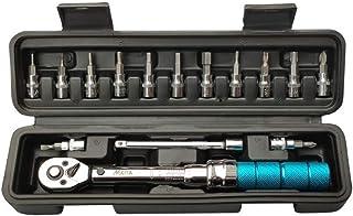 LLRYN 15Pcs/Set 1/4-inch 2-15Nm Torque Wrench Profession Bicycle Bike Part Repair Tool