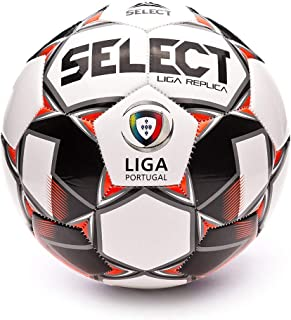 SELECT Liga Replica 2019-2020, Balón, White-Red-Black, Talla 5 ...