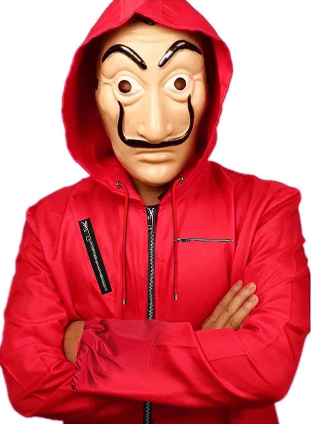 La Casa De Papel 特別セール品 本店 Money Red Heist Hood Jacket with
