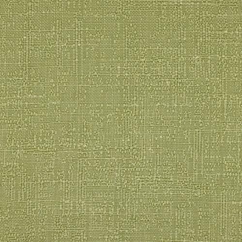 McAlister Textiles Harmony Sage Green Metre, tela de lino suave mezclada con textura, material de mobiliario por metro, 140 cm de ancho