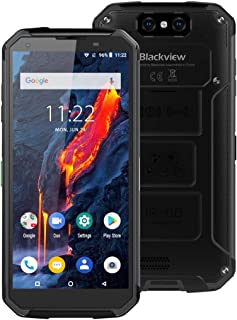 Mobile Phones BV9500 Plus, 4GB+64GB, IP68/IP69K Waterproof Dustproof Shockproof, Dual Back Cameras, 10000mAh Battery, Face ID & Fingerprint Identification, 5.7 inch Android 9.0 MTK Helio P70 Octa Core