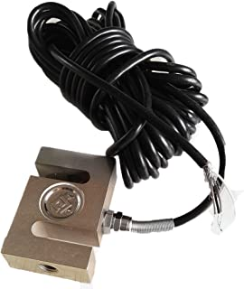 Pull Pressure Force S-type Load Cell Sensor with Cable 5KG 10KG 30KG 100KG 200KG 300KG 500KG 1T 1.5T 2T 3T 5T (10KG)