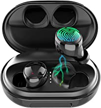 EDYELL C5 Bluetooth 5.0 Wireless Earbuds with Massive 3500MAH Charging Case IPX7 Waterproof TWS Stereo Headphones in Ear B...