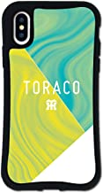 iPhone X ケース iPhone XS ケース どこでもくっつくケース WAYLLY(ウェイリー) アイフォンXケース アイフォンXSケース 着せ替え 耐衝撃 米軍MIL規格 [WAYLLY × 阪神タイガース TORACO/マーブル] ...