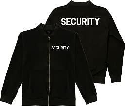 Kings Of NY Event Security Guard Uniform Mens Black Bomber Jacket