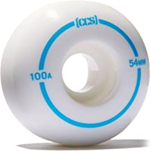 CCS Skateboard Wheels Set of 4 100a Street/Park 52mm, 54mm, 56mm