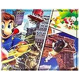 Cartera de Super Mario Odyssey Múltiples mundos Negro