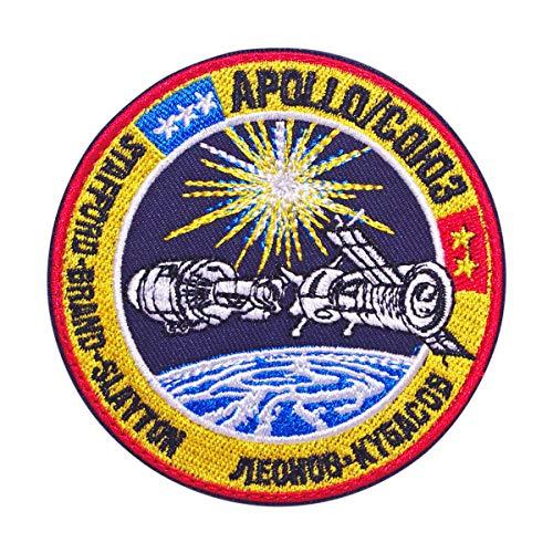 Cobra Tactical Solutions - Parche Militar APOLLO SOYUZ NASA Patch con Cierre de Velcro para Airsoft, Paintball, Ropa táctica y Mochila