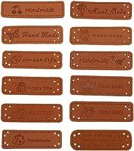 custom leather labels