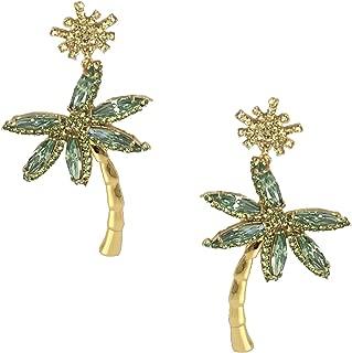 Kate Spade California Dreaming Palm Tree Statement Drop Earrings, Multi