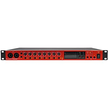 Focusrite Clarett OctoPre with 8 Air-Enabled Mic Pres and 8 Analog Inputs, 8-Channel 24-Bit/192kHz A-D/D-A