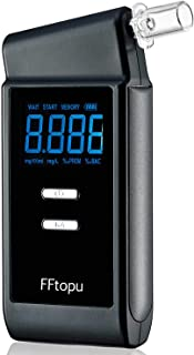 Breathalyzer, FFtopu Professional-Grade Accuracy Breath Alcohol Tester, USB Rechargeable Portable Breath Alcohol Tester wi...