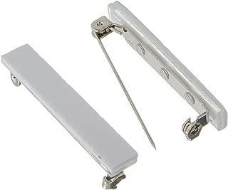 Jewelry Designer 1880-31 Bar Pin Adhesive Back Nickel 1.5In 20Pc