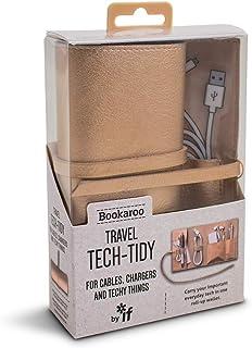 IF Bookaroo Travel Tech-Tidy, Tech Organiser, Travel Pouch Organizer borsa 16 Centimeters Oro (Metallic Copper)
