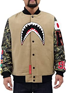 Hudson Outerwear Compatible Men's MVP Sharks Varsity Jacket