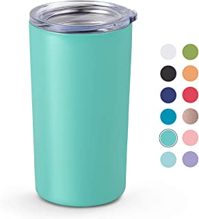 Maars Skinny Mini Insulated Tumbler for Coffee and Tea, 12 oz | Double Wall Vacuum Sealed - Mint