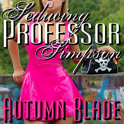 Seducing Professor Simpson audiobook cover art