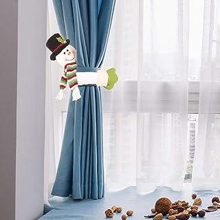 YEMOCILE Fermatenda a Forma di Babbo Natale con Pupazzo di Neve e Alce Alce m