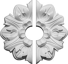 Ekena Millwork CM07EM2-01500 Emery Leaf Ceiling Medallion, 7 5/8