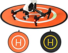 O'woda Landing Pad 43.3inch Double-side Foldable Portable Waterproof Large Helicopter Helipad for DJI Phantom Inspire and Other Drones Accessories