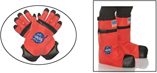 Under Wrap Boys Orange Outer Space Astronaut Accessory Kit