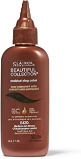 Medium Ash Brown Moisturizing Semi Permanent Hair Color
