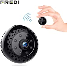 Hidden Spy Camera, Mini WiFi HD 1080P Wireless Security Nanny Cam for iPhone/Mac/Android/Window Remote View with Motion Detection
