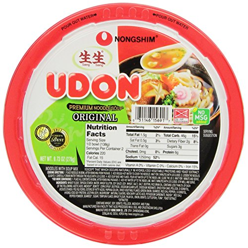 Nongshim Fresh Udon Bowl (pack of 6)