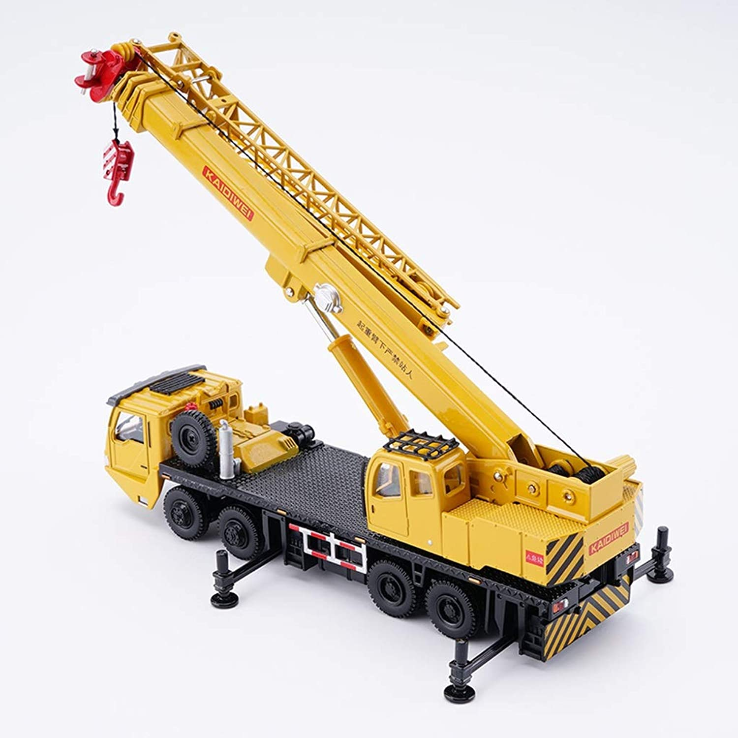 JIANPING Car Model 1 58 Crane Simulation Alloy Diecasting Toy Jewelry Engineering Car Collection Jewelry 19.5x5x6CM Model car