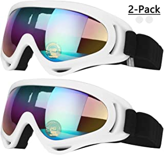 COOLOO Ski Goggles, Snowboard Goggles for Men Women & Youth, Kids, Boys & Girls,..