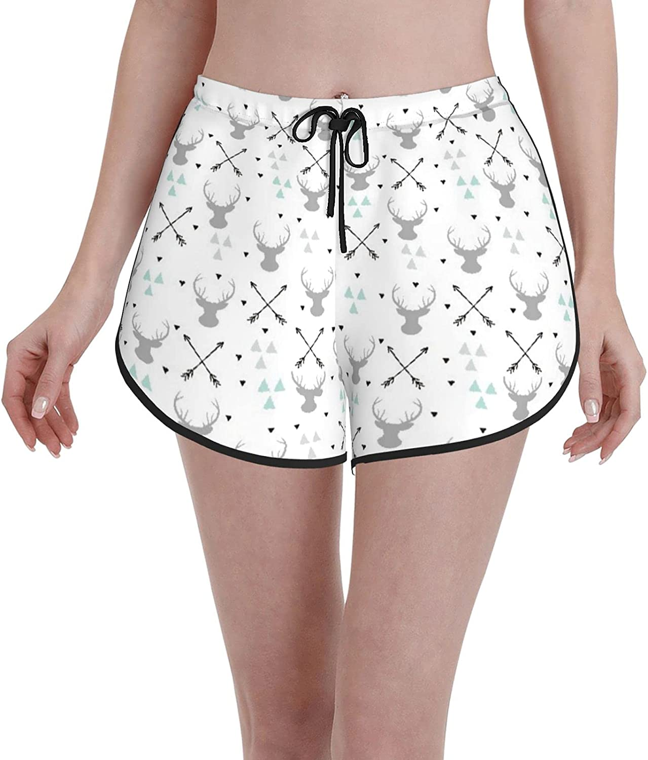 Women's Limited time trial price Girl's Swim Manufacturer direct delivery Trunks Hunting Triangle Arrow Theme Dee