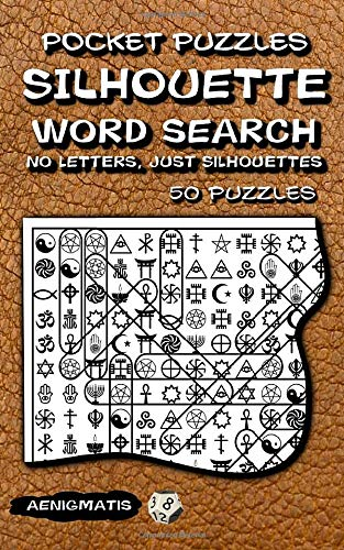 Pocket Puzzles Silhouette Word Search: No Letters, Just Silhouettes. (Pocket Silhouette Word Search, Band 1)