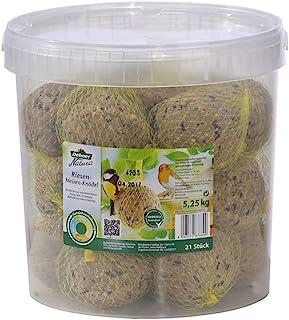 Dehner Nourriture Natura pour Oiseaux Sauvages - 21 Grosses boulettes de mésange - 5,3 kg