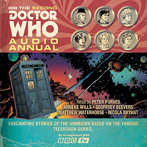 The Second Doctor Who Audio Annual audiobook cover art
