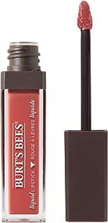 Burt's Bees 100% Natural Moisturizing Liquid Lipstick, Coral Cove - 1 Tube