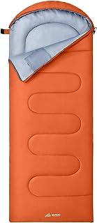 SEMOO 寝袋 封筒型 軽量 シュラフ 防水 コンパクト アウトドア 登山 車中泊 収納袋付き 春夏秋冬の使用可能