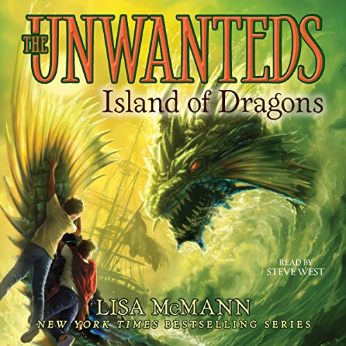Island of Dragons audiobook cover art