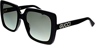 Gucci GG0418S Black/Crystal/Grey Gradient One Size